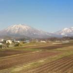 黒姫山と妙高山