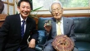 善本知孝先生と中田社長