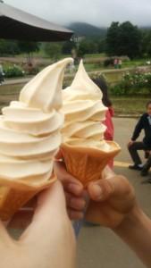 トウモロコシソフトクリーム
