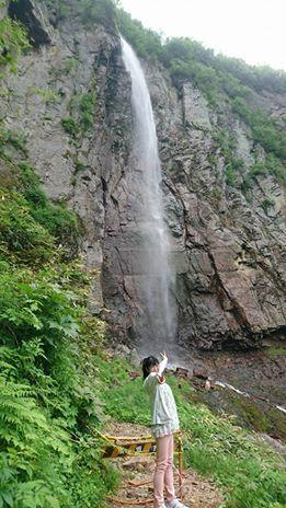 須坂の不動滝