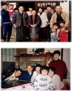 中田やえ子の家族